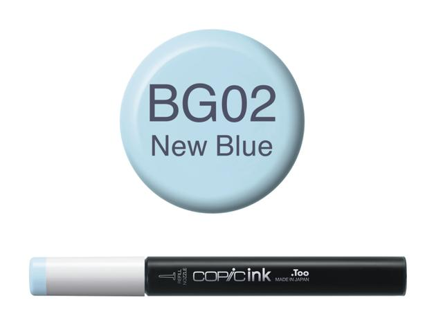 COPIC INKT NW BG02 NEW BLUE  1