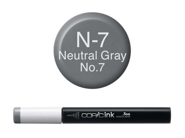 COPIC INKT NW N7 NEUTRAL GRAY 7 1