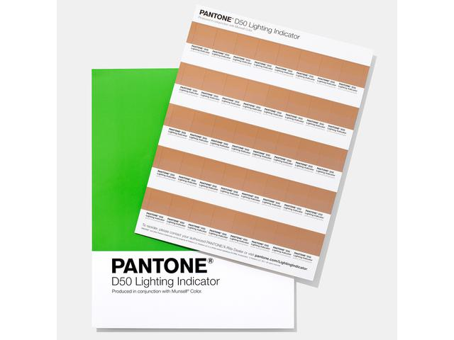 PANTONE LIGHTING INDICATOR STICKERS D50 1