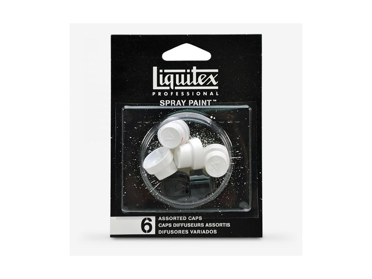 LIQUITEX SPRAY PAINT-ASSORTED NOZZLE PACK (STAND,FAT,SKINNY) 1