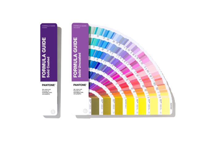 PANTONE FORMULA GUIDE SOLID COATED & UNCOATED 1