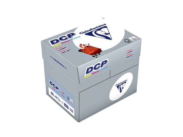 LASERPAPIER CLAIREFONTAINE DCP A4 80GR WIT 2