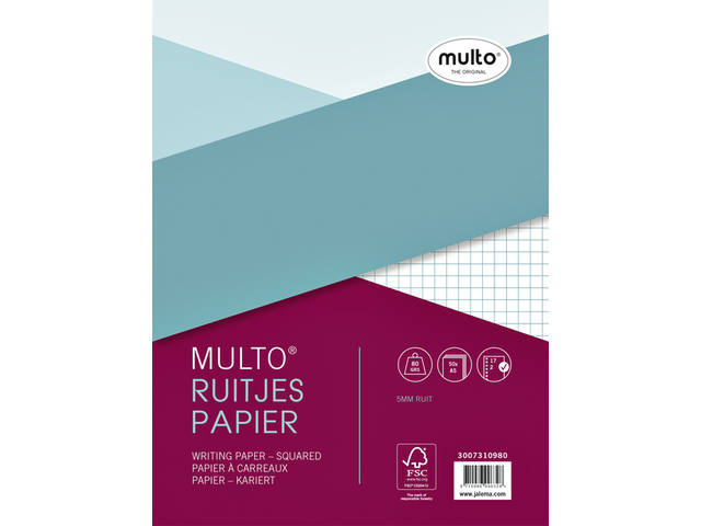 INTERIEUR MULTO 17R RUIT 5MM 80GR 50V