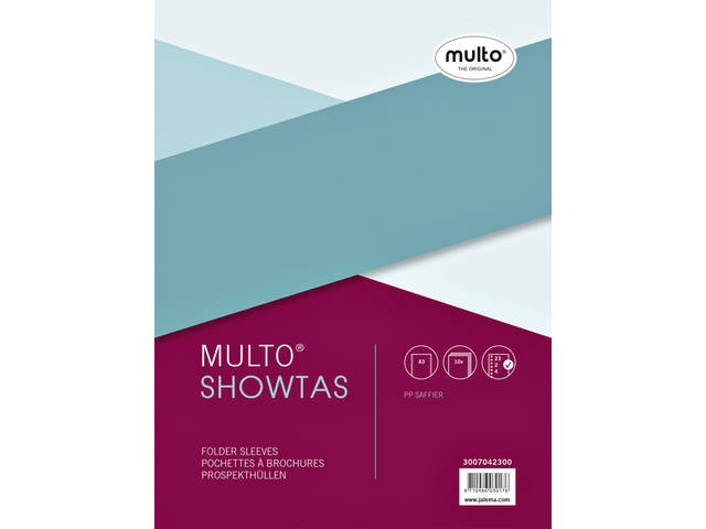 SHOWTAS MULTO A3 23R PP 0.08MM NERF