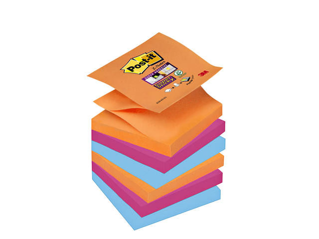 MEMOBLOK 3M POST-IT Z-NOTE S330-6EG STICKY ASS