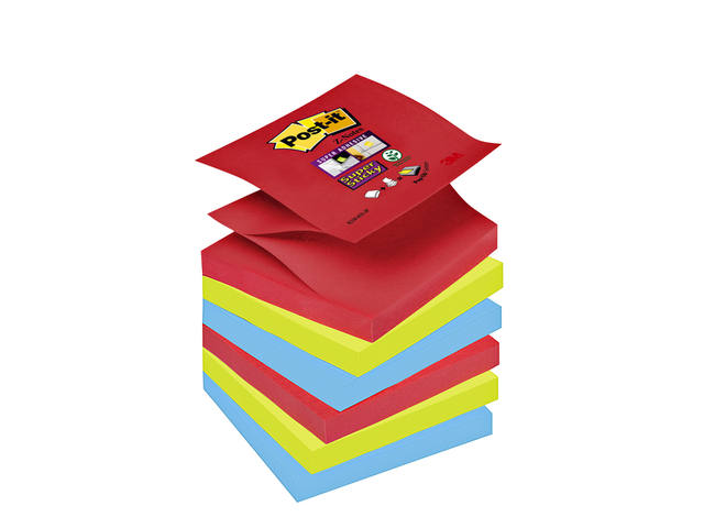 MEMOBLOK 3M POST-IT Z-NOTE S330-6JP SS ASS