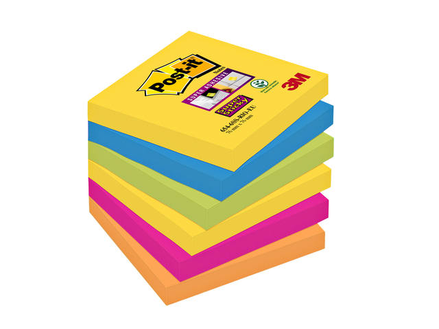 MEMOBLOK 3M POST-IT 654-SSRO 76X76MM RIO