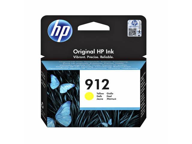 INKCARTRIDGE HP 912 3YL79AE GEEL 1