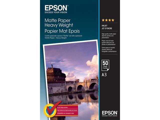 INKJETPAPIER EPSON S041261 A3 167GR MAT