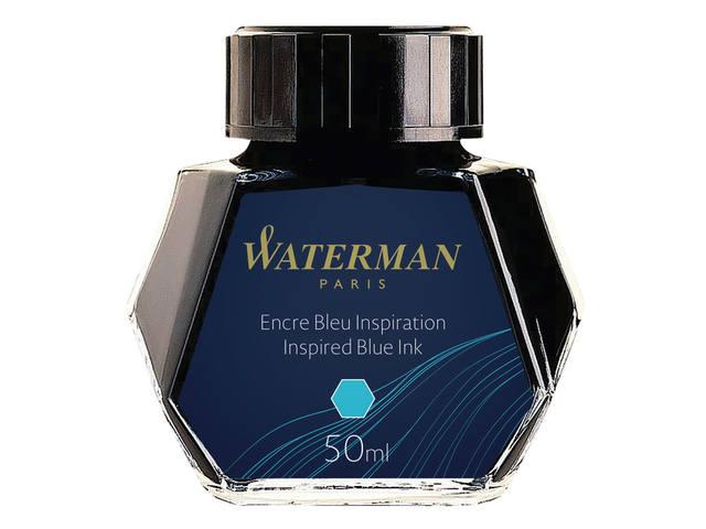 VULPENINKT WATERMAN 50ML INSPIREREND BLAUW