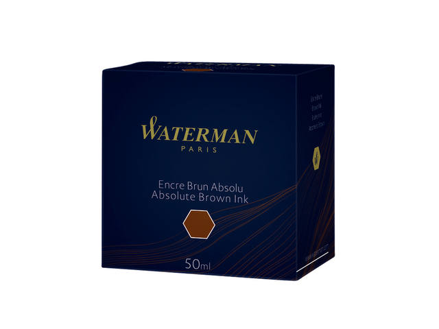 VULPENINKT WATERMAN 50ML ABSOLUUT BRUIN 4