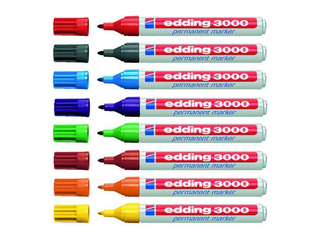 VILTSTIFT EDDING 3000 ROND 1.5-3MM LICHTGROEN 2