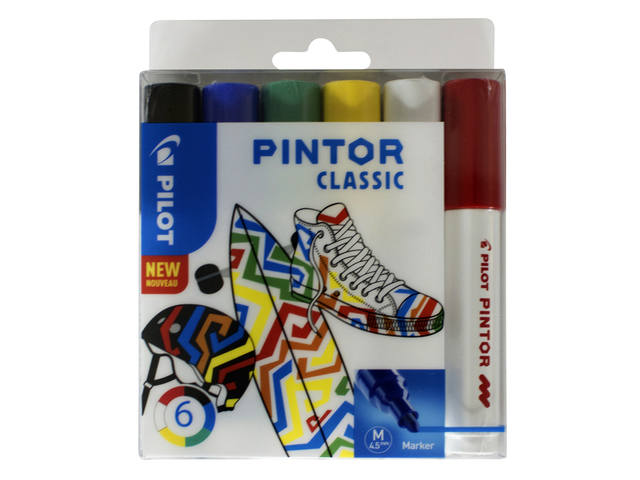 VILTSTIFT PILOT PINTOR CLASSIC 1.4MM ASS 1