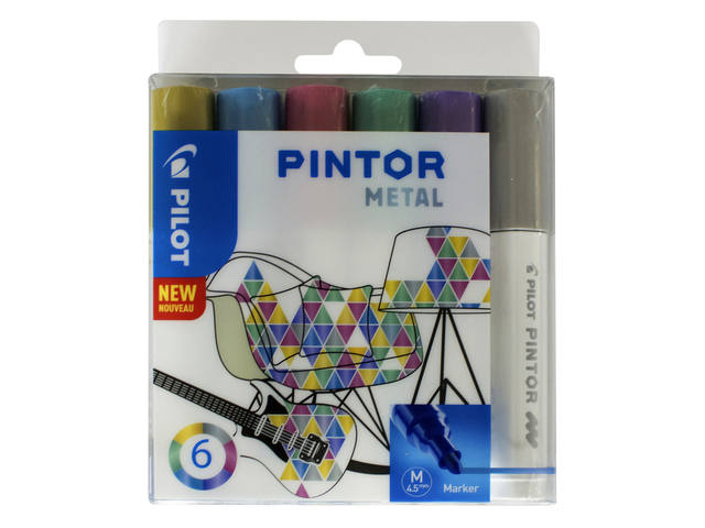 VILTSTIFT PILOT PINTOR METALIC 1.4MM ASS