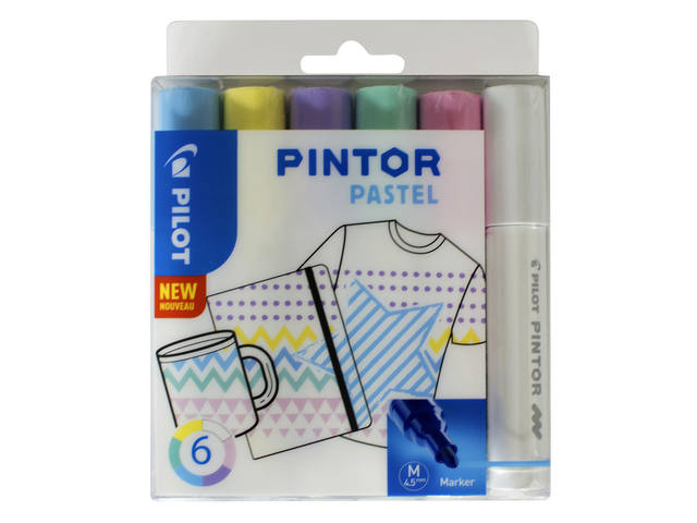 VILTSTIFT PILOT PINTOR PASTEL 1.4MM ASS