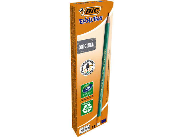 POTLOOD BIC EVOLUTION 655 HB MET GUMTIP 2