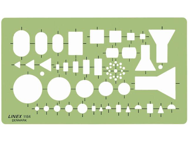 SJABLOON LINEX 1184 ELEKTRO