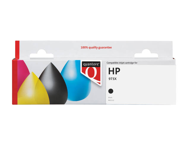 INKCARTRIDGE QUANTORE HP 973X L0S07AE ZWART