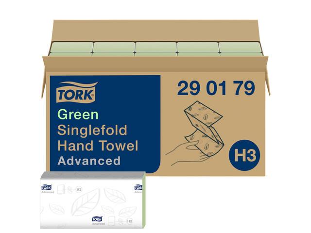 VULLING TORK H3 HANDDOEK SINGLEFOLD 2LAAGS 15X250ST 290179