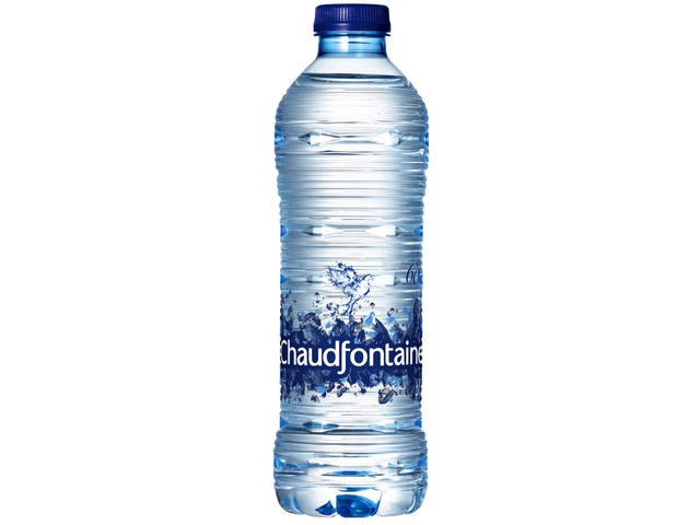 WATER CHAUDFONTAINE BLAUW FLES 0.50L