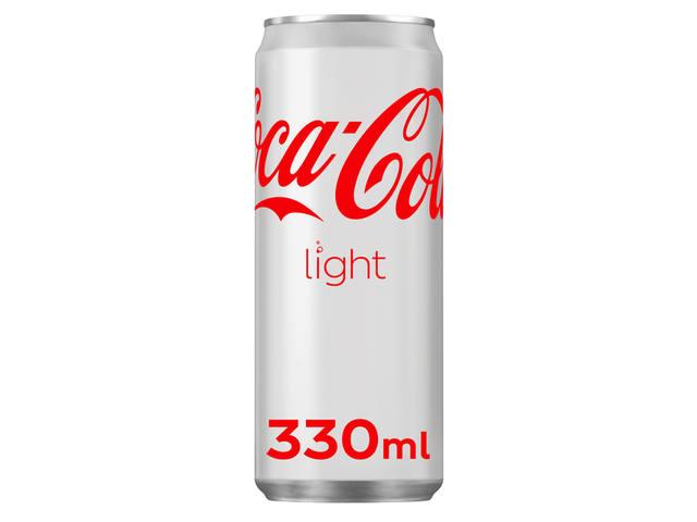 FRISDRANK COCA COLA LIGHT BLIKJE 0.33L