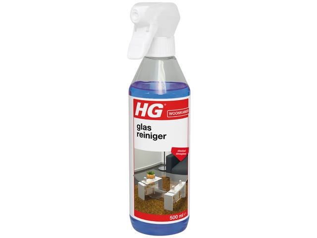 GLAS EN SPIEGELREINIGER HG SPRAY 500ML