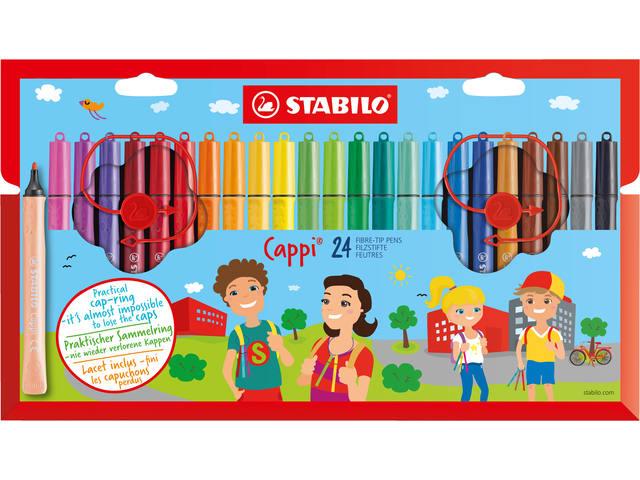 VILTSTIFT STABILO CAPPI 168/24-4 ASS
