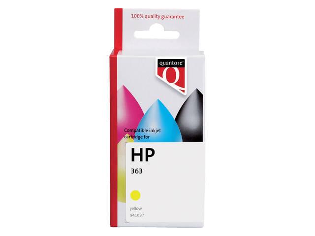 INKCARTRIDGE QUANTORE HP 363 C8773EE GEEL