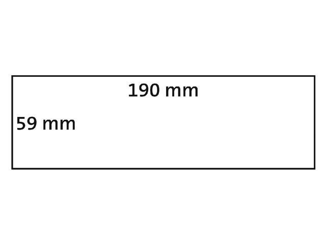 LABEL ETIKET DYMO DURABLE 19330 190MMX59MM WIT 2