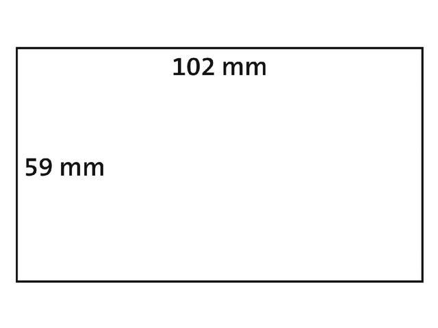LABEL ETIKET DYMO DURABLE 19330 102MMX59MM WIT 2