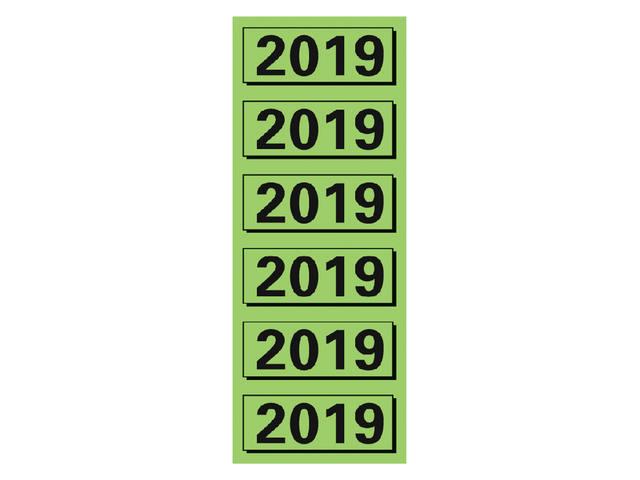 RUGETIKET ELBA 2019 JAARETIKET GROEN