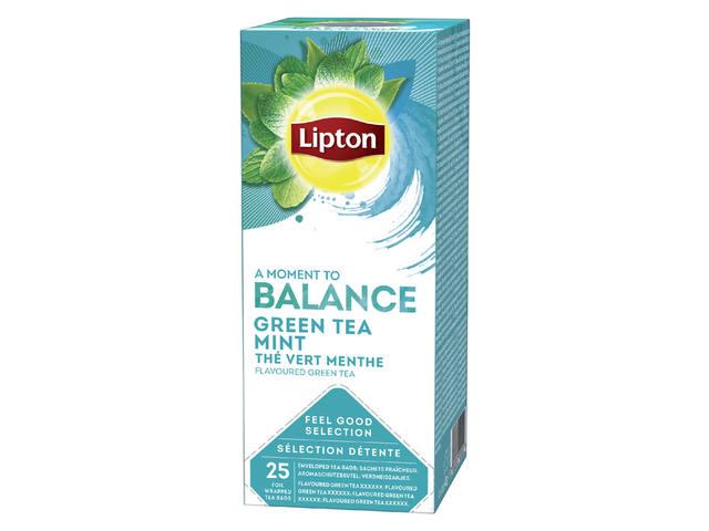 THEE LIPTON BALANCE GROENE THEE MUNT 1.5GR