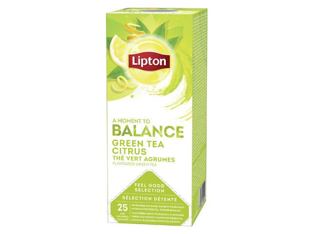 THEE LIPTON BALANCE GROENE THEE CITRUS 1.5GR