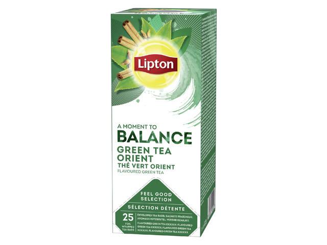 THEE LIPTON BALANCE GROENE THEE ORIENT 1.5GR