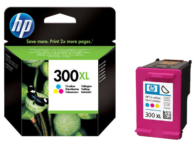 INKCARTRIDGE HP 300XL CC644E HC KLEUR
