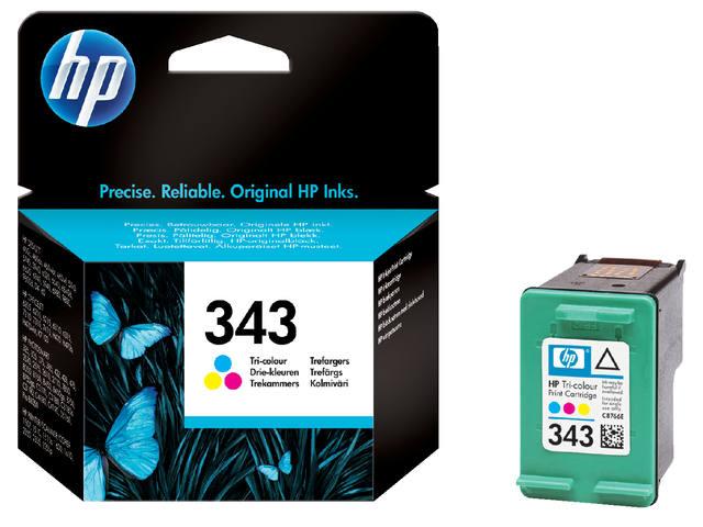 INKCARTRIDGE HP 343 C8766EE KLEUR