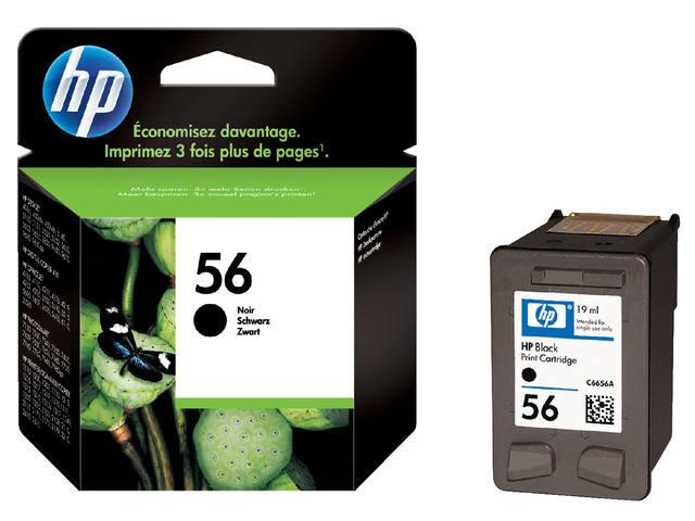 INKCARTRIDGE HP 56 C6656AE HC ZWART