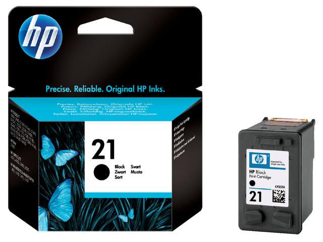 INKCARTRIDGE HP 21 C9351A ZWART