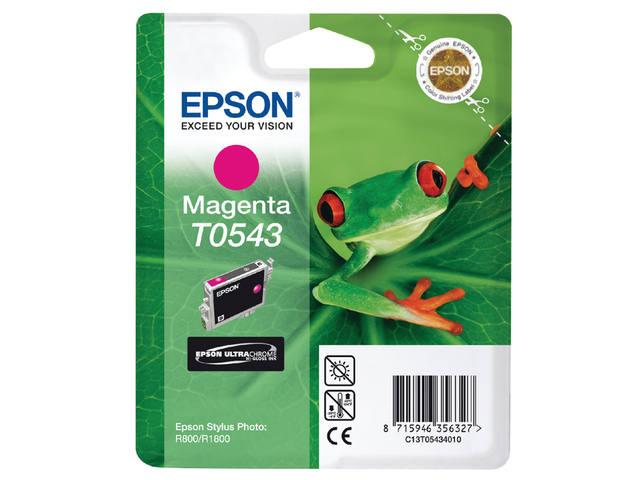 INKCARTRIDGE EPSON T054340 ROOD 1