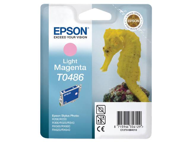 INKCARTRIDGE EPSON T048640 LICHT ROOD