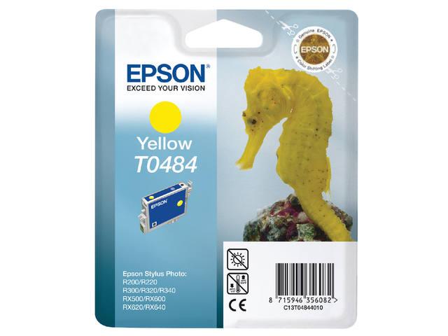 INKCARTRIDGE EPSON T048440 GEEL