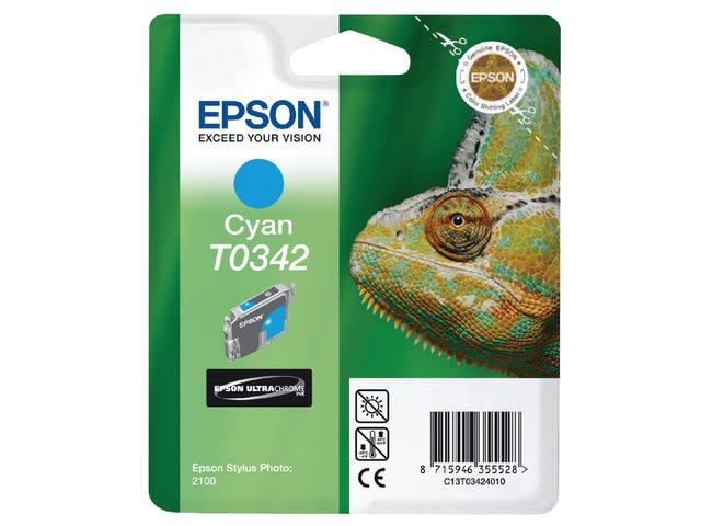 INKCARTRIDGE EPSON T034240 BLAUW