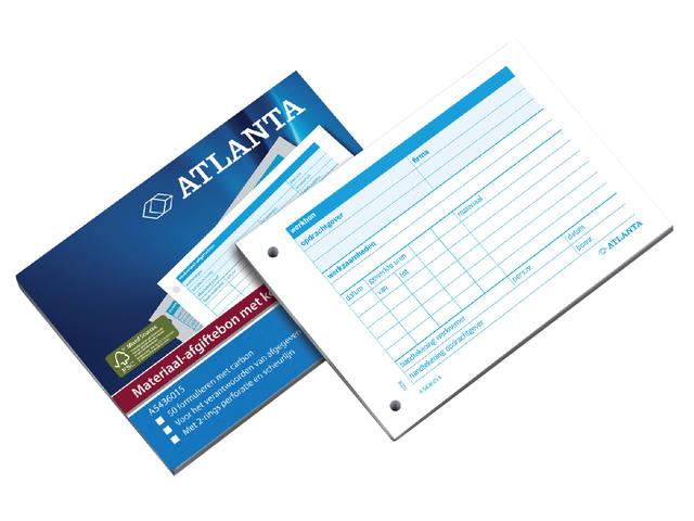 MATERIAAL AFGIFTEBON A5436-015 A6 50X2V