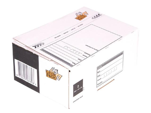 POSTPAKKETBOX 2 CLEVERPACK 200X140X80MM
