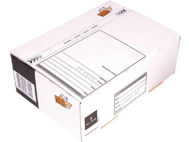 POSTPAKKETBOX 3 CLEVERPACK 240X170X80MM