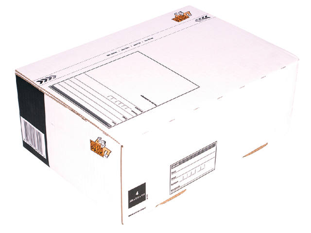 POSTPAKKETBOX 4 CLEVERPACK 305X215X110MM
