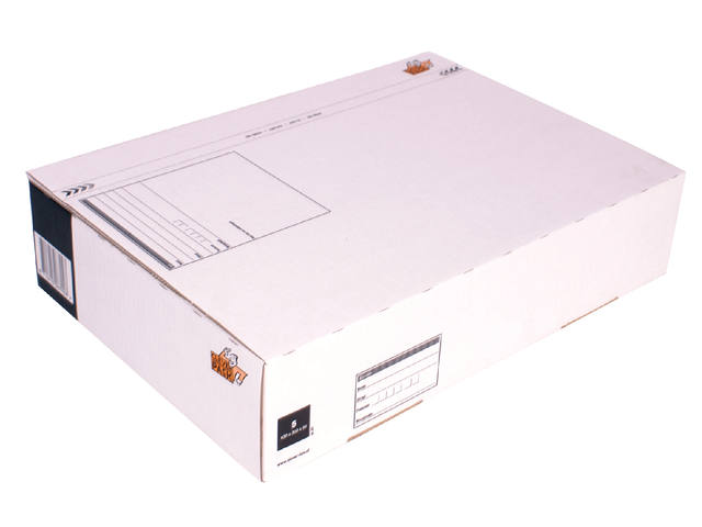 POSTPAKKETBOX 5 CLEVERPACK 430X300X90MM