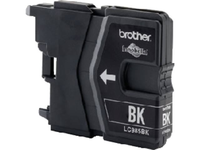 INKCARTRIDGE BROTHER LC-985 ZWART 2