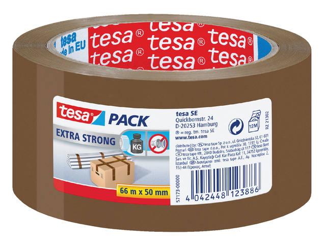 VERPAKKINGSTAPE TESA 57173 50MMX66M PVC BRUIN