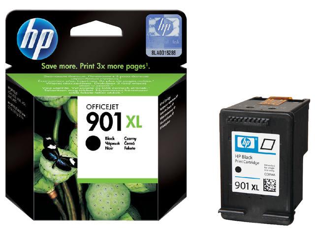 INKCARTRIDGE HP 901XL CC654AE HC ZWART